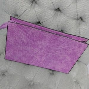 🆕️Lavender Purple Accessory/ Make-Up Bag